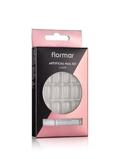 Flormar Flormar Şeffaf Takma Tırnak Seti  053 Renksiz